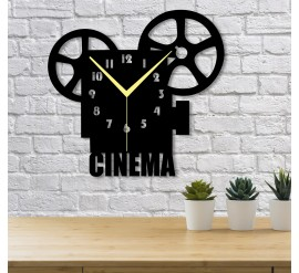 Cinema Dekoratif Duvar Saati