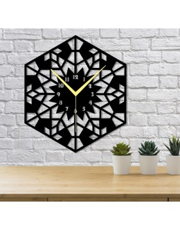 Pattern Dekoratif Duvar Saati