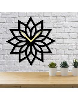Elips Geometrik Dekoratif Duvar Saati