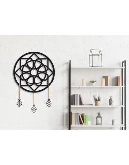 Mandala Design Otto Duvar Panosu