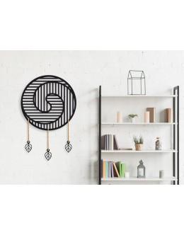 Mandala Design Ratio Dekoratif Duvar Panosu
