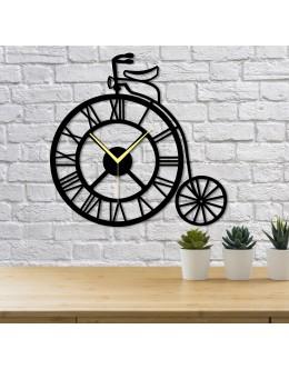 Bisiklet Tekeri Roma Rakamlı Dekoratif Duvar Saati