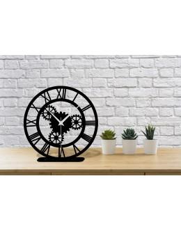 Çark Design Roma Rakamlı Modern Masa Saati