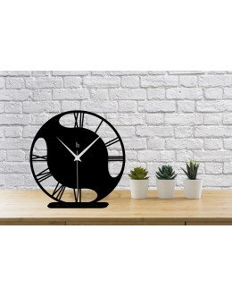 Organik Roma Rakamlı Modern Masa Saati