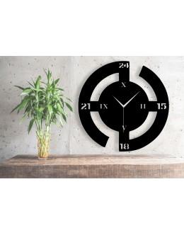 Rota Temalı Yuvarlak Dekoratif Duvar Saati