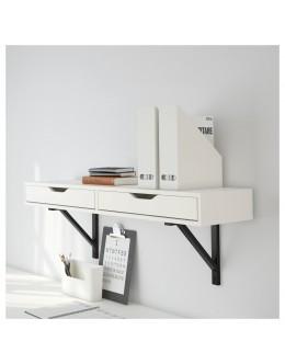 Çekmeceli Beyaz Duvar Rafı EKBY ALEX/VALTER