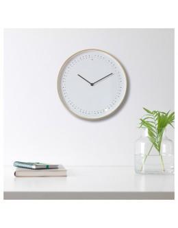Saniyesi Işıklı Modern Duvar Saati