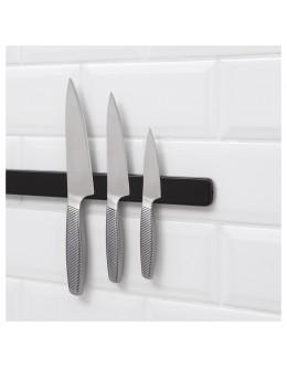 Siyah Duvar Mıknatıslı Bıçaklık 38cm