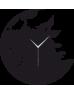 Kurt Temalı Dekoratif Duvar Saati