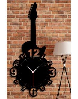 Gitar Temalı Dekoratif Duvar Tablosu